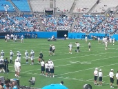 Panthers practice
